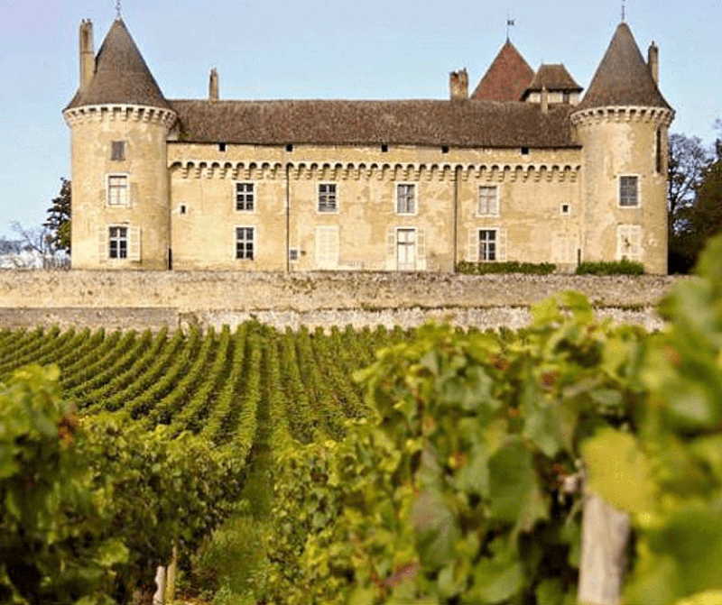 Château de Rully Burgundy Finding France