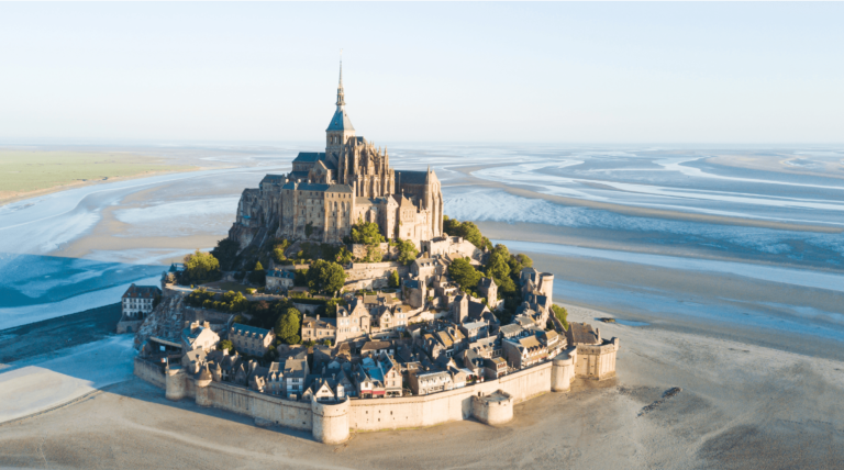 Mont Saint Michel Finding France