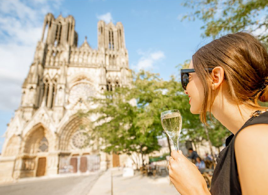 Reims Cathedral Champagne Finding France