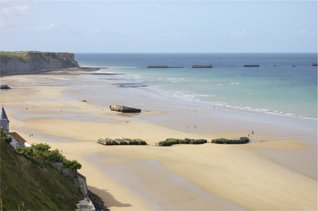 DDay beaches Normandy Finding France