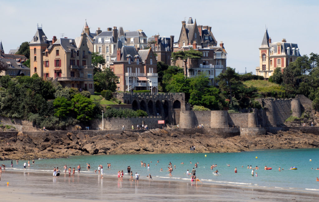 seaside Brittany Finding France