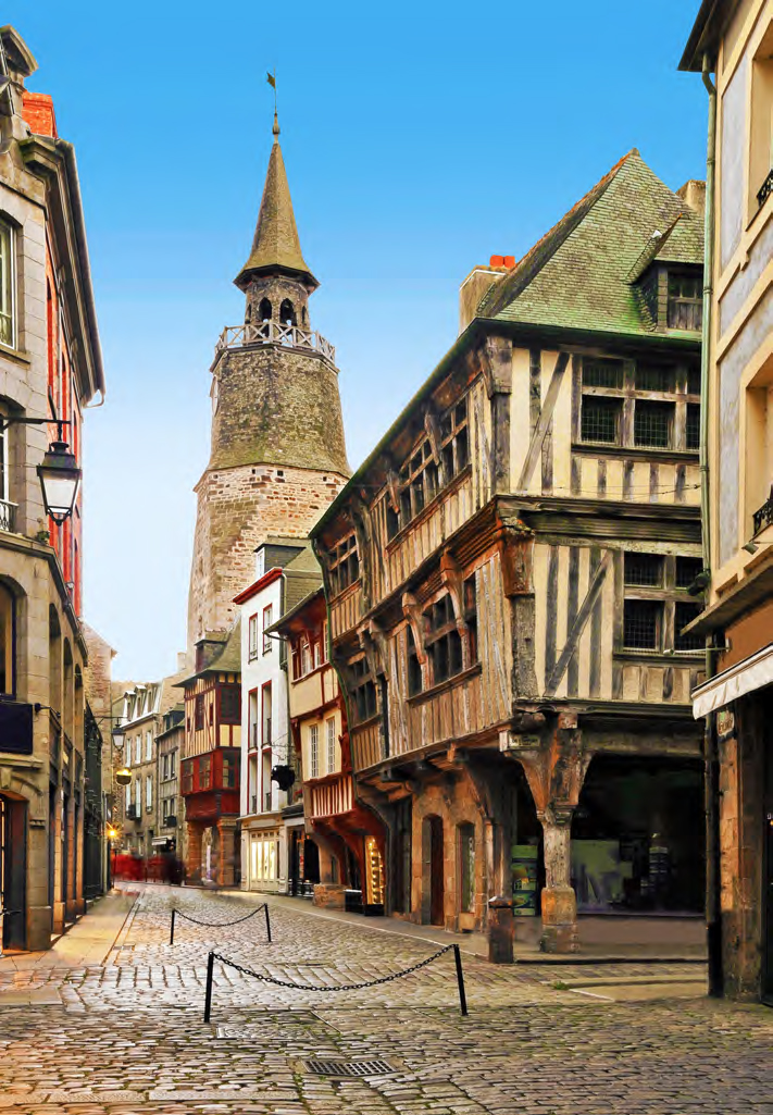 Brittany village Finding France