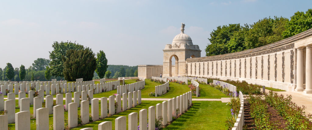 First World War Canadian Cemetery Finding France